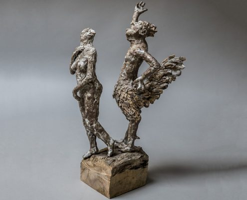 Michael Flynn the spectacle of life - Michael Flynn work - contemporary ceramic - English ceramic
