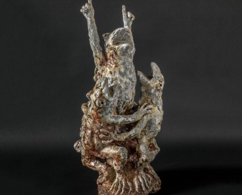 Michael Flynn - ceramic artist and sculptor - contemporary ceramic exhibition in France - French ceramic gallery